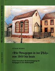 Synagogen in der Pfalz von 1800 bis heute